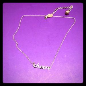 "Kate Spade ""Cheers"" Necklace"